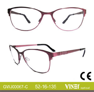 Glasses Eyeglass Frames with High Quality (67-B) pictures & photos