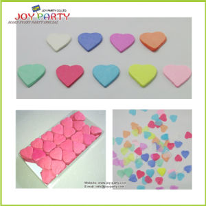 Non-Flammable Heart Shape Tissue Paper Confetti