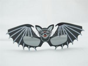 Bat Party Glasses for Halloween Black