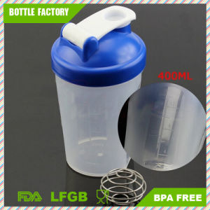 400ml BPA Free Shaker Cup Plastic Protein Shaker Bottle pictures & photos