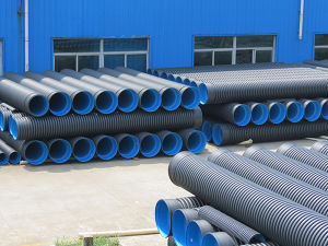 OEM HDPE Double-Wall Corrugated Pipe pictures & photos