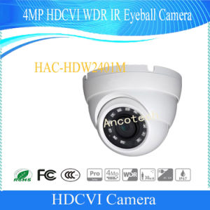 Dahua 4MP Hdcvi WDR IR Eyeball HD Camera (HAC-HDW2401M) pictures & photos