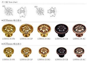 High Quality Wardrobe Knob and Pull Handle pictures & photos