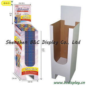Paper Cardboard Dumpbin Display, Dump Bin Display Rack, Paper Display Showcase, Dump Bin (B&C-A059) pictures & photos