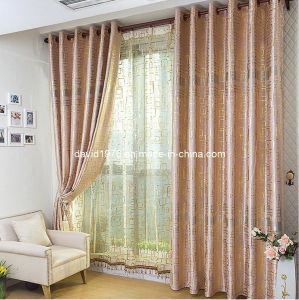 Gold Shiny Elegant Sheer Grommet Panel / Curtain