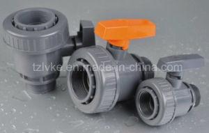 PVC Single Union Ball Valve F*M (NPT) pictures & photos