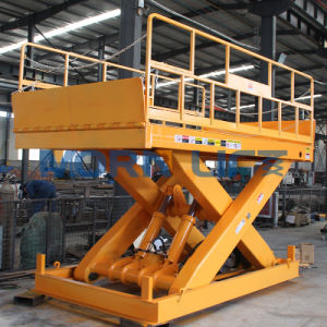 Electric Hydraulic Scissor Lift Table pictures & photos