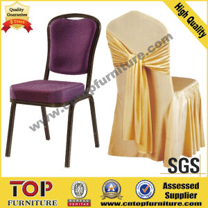Hotel Banquet Chair with Wedding Chair Cover pictures & photos