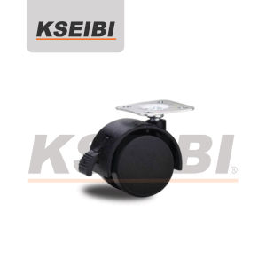 High Quality Kseibi Furniture Swivel Caster with Brakes pictures & photos