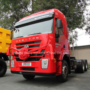 Low Price 380HP 6X4 M100 Hongyan Iveco LNG Tractor Truck pictures & photos