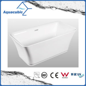 Luxury Pure Acrylic Seamless Free Standing Bathtub (AB6502) pictures & photos