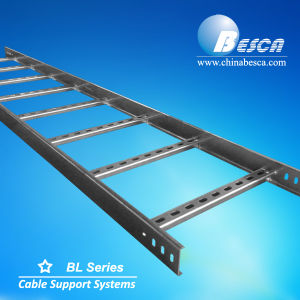 Galvanised Steel Ladder Type Cable Tray with CE and UL and SGS Listed Manufacturer