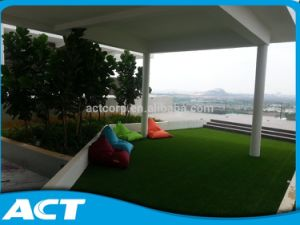 Pembekal Rumput Sintetik Lanskap Made in China Garden Grass pictures & photos