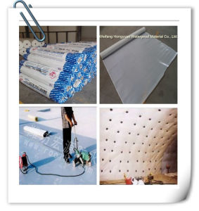 PVC Tunnel Waterproofing Material/PVC Subway Waterproof Membrane pictures & photos