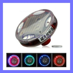 Waterproof Solar Car Tire Valve Wheel LED Light Decorate Warning Lighting (LED229) pictures & photos