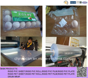 Transparent PVC Sheet for Tray, PVC Film for Vacuum Forming pictures & photos