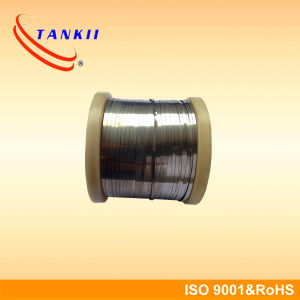 New Constantan Flat Wire Copper Nickel Alloy 6j11 Ribbon 0.4*2mm pictures & photos