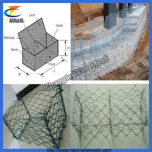 Good Price Galvanized and PVC Gabion Wire Mesh pictures & photos