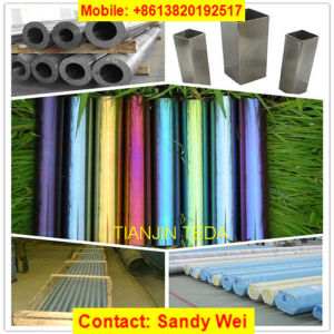 AISI304 Color Coated Welded Pipe for Decoration Use pictures & photos