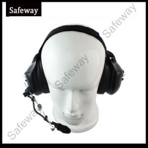 Two Way Radio Aviation Noise Canceling Headphone for Motorola pictures & photos