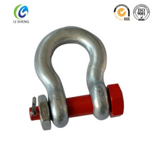 Us Type G2130 Bolts Type Bow Shackle pictures & photos