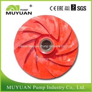 Single Stage Mill Discharge Acid Resistant Slurry Pump Rubber Impeller pictures & photos