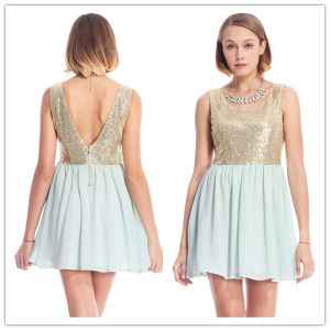 2014 French Connection Sequin Dress for Women/Lady Dress (HSM601)