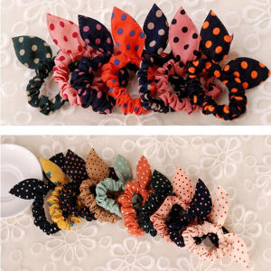 Small Rabbit Ear Hairbands Ponytail Holder (HEAD-09)