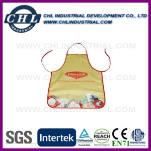 Personlized Full Logo Printed Cooking Polyester Apron for Women pictures & photos