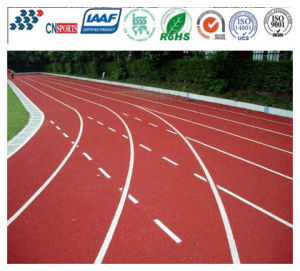 Excellent High Shock Absorption Running Track with Iaaf Standards pictures & photos