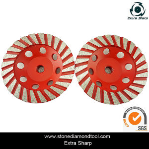 125mm Coarse Diamond Grinding Wheels for Marble & Granite pictures & photos