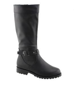 Girl Boy Long Heel Boots Kids Knee High Children Boots