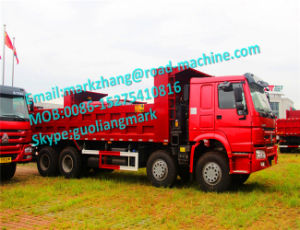 Sinotrck HOWO 8X4 12wheeler Dumper Truck 336/371HP Africa Ethiopia pictures & photos