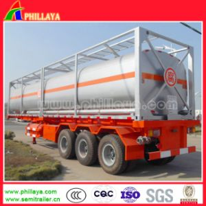 20FT 40FT Chemical Liquid Tank Container (fuel LPG CO2) pictures & photos