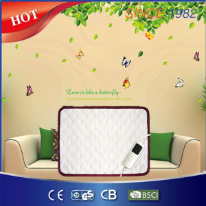 New Arrival Ultrasonic Welding Safety Electric Heating Pad with Timer pictures & photos