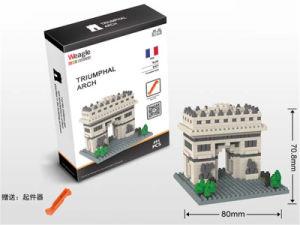495PCS Small Plastic Toy Eiffel Tower Weagle Diamond Building Block with En71/6p pictures & photos