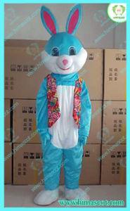Hi En71 Bule Bunny Character Mascot Costume