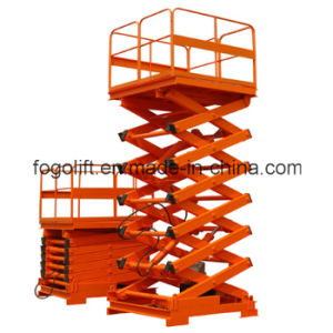 Professional Portable Competitive Price New Design Goods Stationary Lift Table pictures & photos