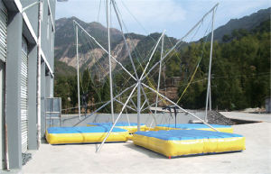 Hot Sale Luxurious Bungee Jumping Trampoline for Outdoor (TY-41203) pictures & photos
