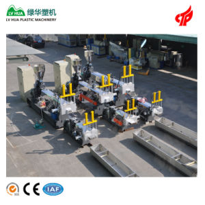 Hard Scrap Double Stage Plastic Recycling Machine pictures & photos