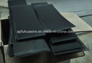 Stainless Steel Wire Mesh with Black Powder Coated pictures & photos