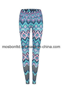 Dreamtime High Waist Printed Yoga Legging - Full Length pictures & photos