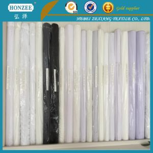 Weave Microdot Fusing Interlining Fabric for Garment Coat Inner Interlining pictures & photos