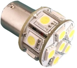 LED Autobulb Ba15 with 10-30VDC