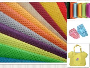 PP Nonwoven Fabric for Shopping Bag (NFM-1119) pictures & photos