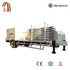 Movable Trailer Mounted K Type Arch Metal Roof Sheets Roll Forming Machine pictures & photos