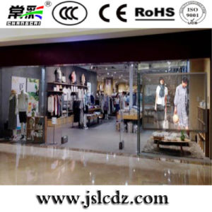 Customized P10*10 Glass Transparent Outdoor LED Display for Advertising