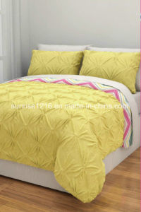 Quilt Sr-CS170222-11 Embroidered Microfiber Comforter Set pictures & photos