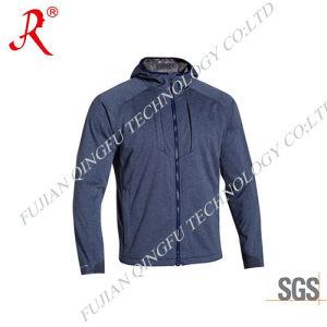 2015 Hot Sale Men′s Comfortable Softshell Fleece Jacket (QF-4092) pictures & photos