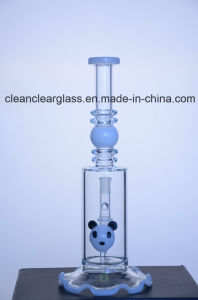 New Design Glass Water Pipe Smoking Pipe From Ccg pictures & photos